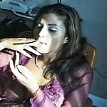 Appealing vanessa smokes a penish 0. Vanessa is hot and nasty and ready to give you an intense smoking blow