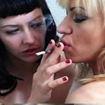 Smoking nubile bodies   mary jane and frankie enjoy each others naked bodies as they exhale clouds of smoke.  Mary Jane and Frankie enjoy each others naked bodies as they exhale clouds of smoke