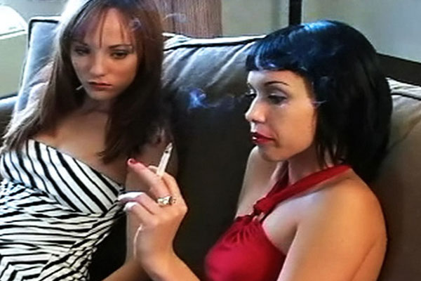 Jaqueline and charlies smoke lesson 1   try not to give suck your load watching these horny sluts smoke. Try not to cock sucking your load watching these exciting sluts smoke