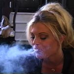 Smoke and cock 1. Brooke loves the tasting smoke and tool in her mouth at the same time