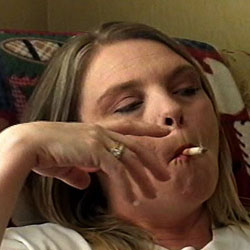 More to be transfixed by. This mature plush woman has been smoking for ages. She knows just how to bring it to her lips and exhale in such a seductive manner.